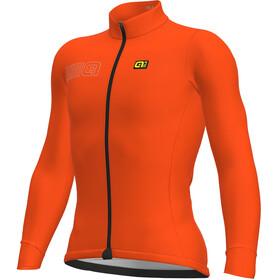 Alé Cycling Solid Color Block Longsleeve Jersey Men fluo orange